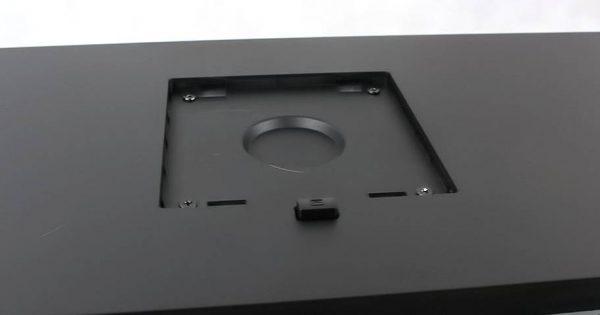 Sistemul de prindere VESA de 100mm al monitorului
