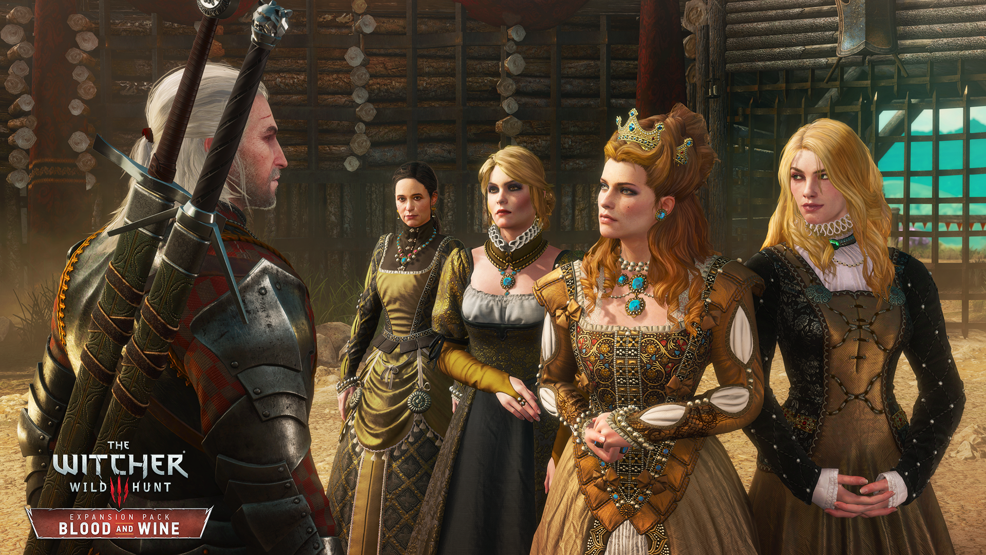 Photo of Primele imagini din The Witcher 3: Blood and Wine