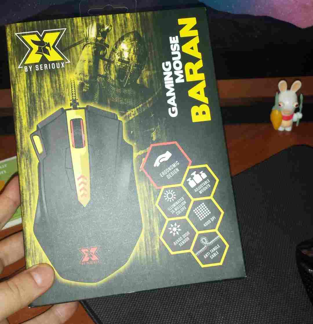 X by Serioux Baran Gaming Mouse Review