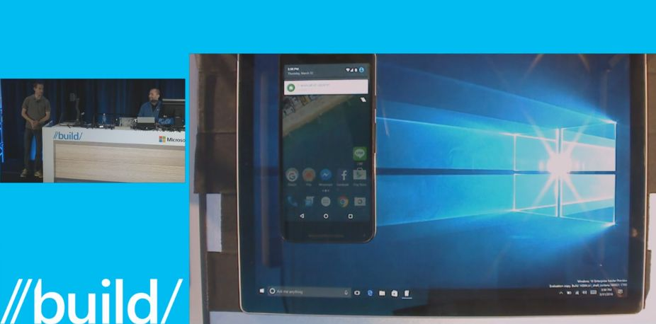 Photo of Windows 10 capata notificari de Android