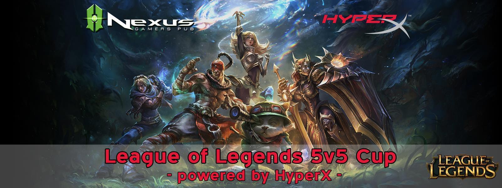 Photo of Nexus impreuna cu HyperX ofera premii de 1500 de euro intr-un campionat League of Legends
