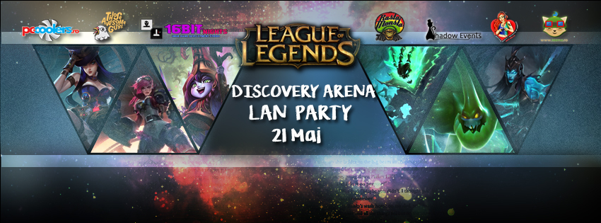 Photo of Discovery Arena va invita la un LoL 5v5 LAN Party