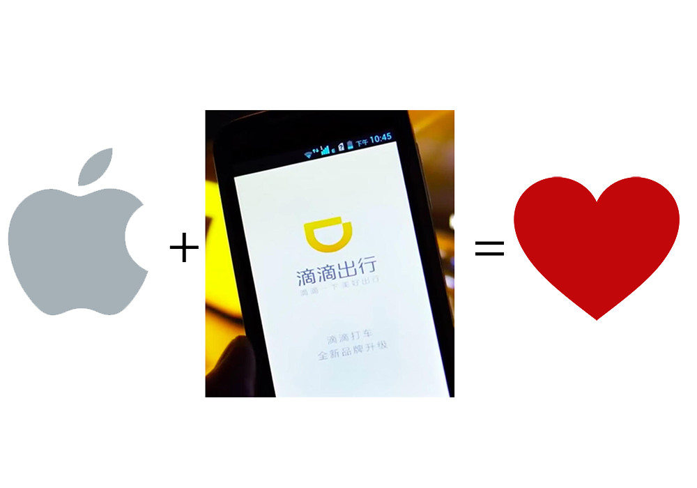 Apple investeste un miliard de dolari in Didi