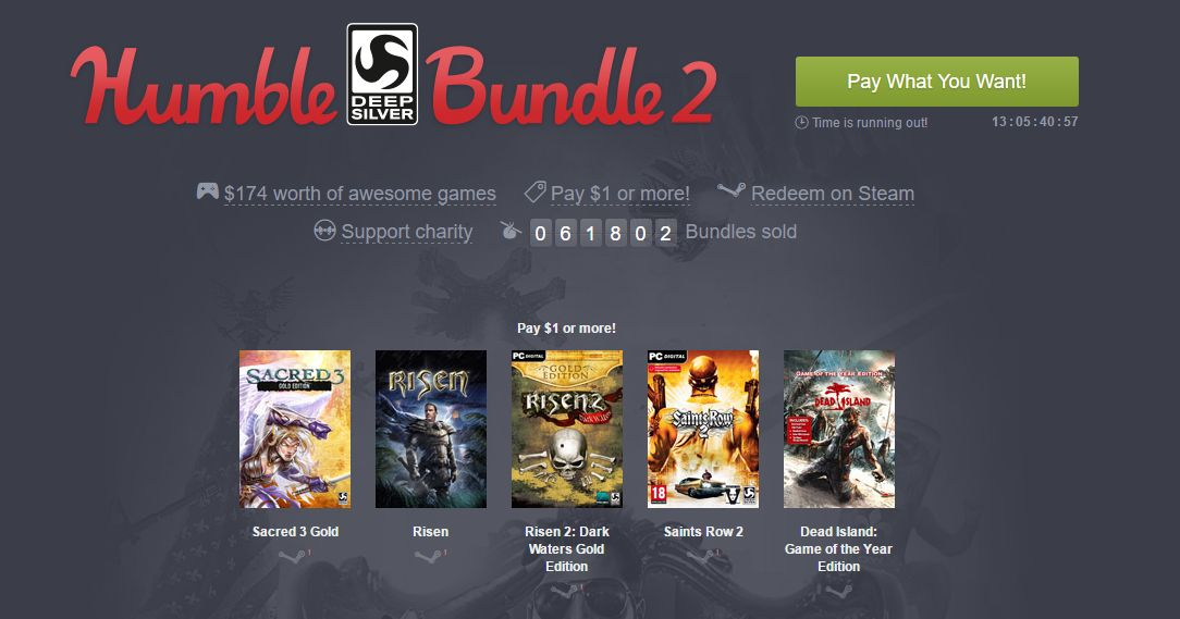 Photo of Humble Deep Silver Bundle