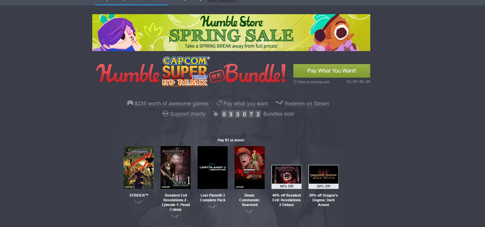 Photo of Humble Capcom Bundle