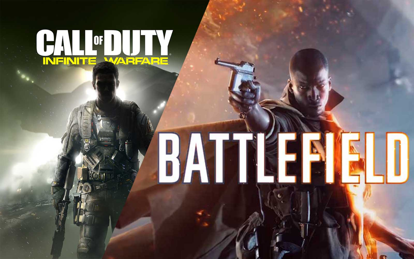 Infinite Warfare vs Battlefield