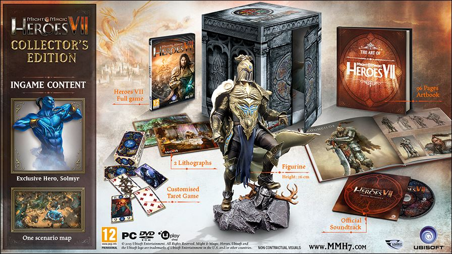 Photo of Concurs Heroes of Might and Magic VII Collector Edition