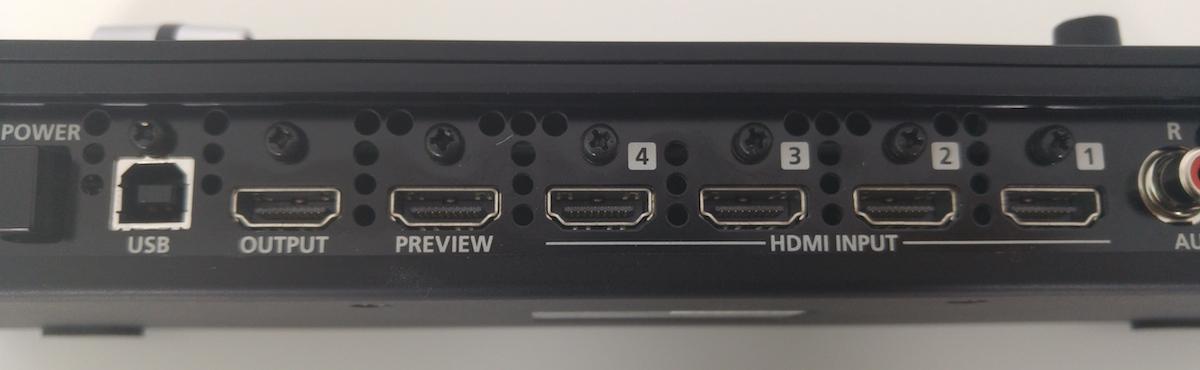 Roland V-1HD ports