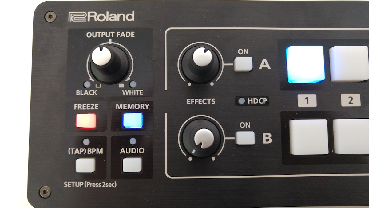 Roland V-1HD features