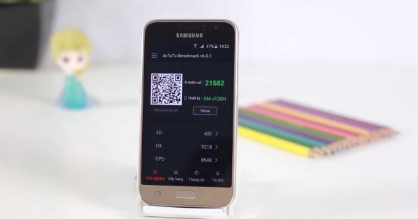 Samsung Galaxy J1 Mini in Antutu