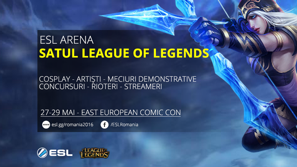 Trei zile de League of Legends la Comic Con 2016