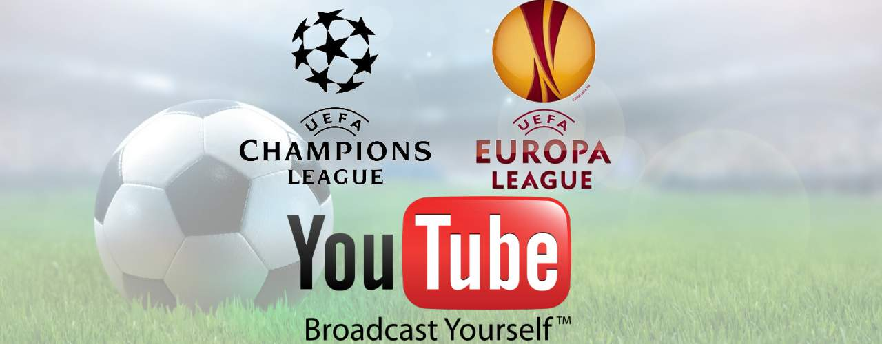 Photo of Finalele Champions League si Europa League vor fi transmise in direct pe Youtube