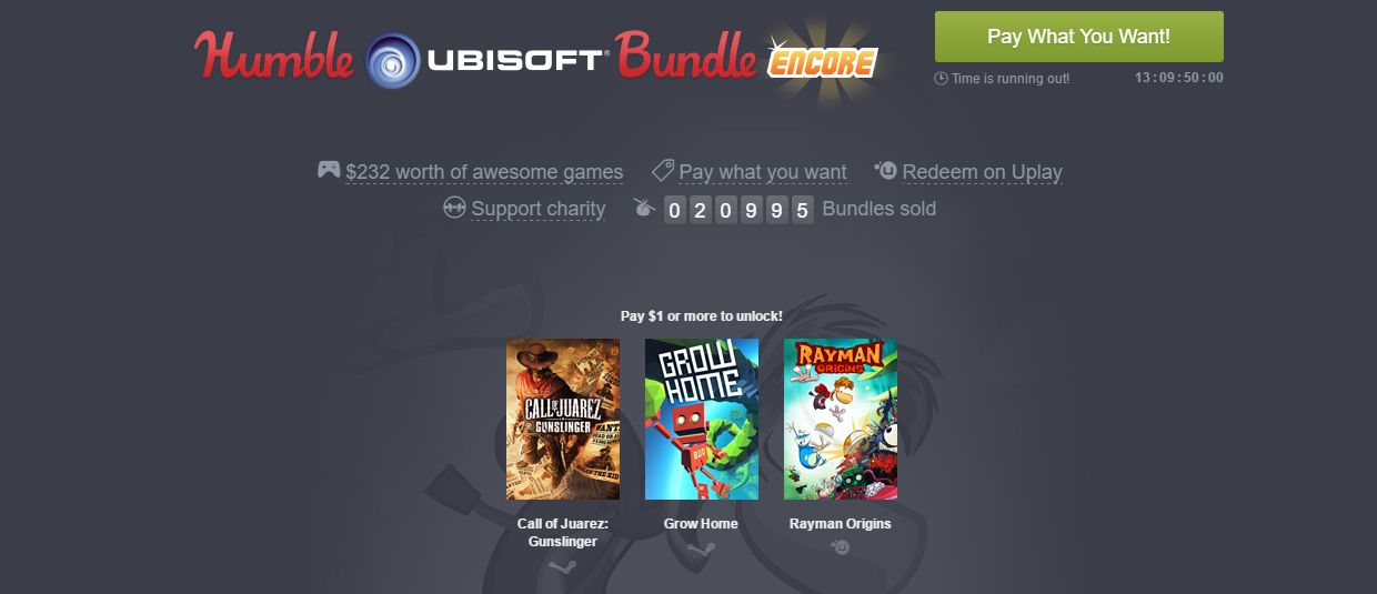 Photo of Humble Ubisoft Bundle Revine