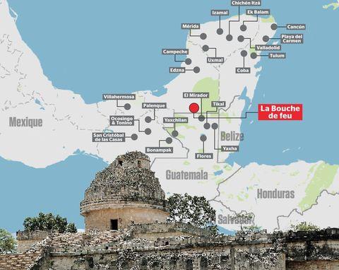 Un oras maya pierdut redescoperit de un elev de 15 ani