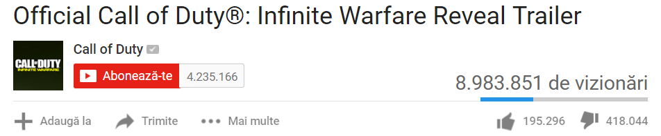 call of duty infiniy warfare