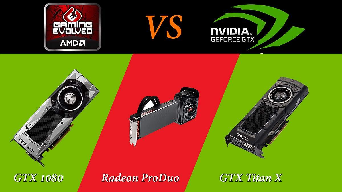 Photo of Batalia titanilor: Radeon ProDuo vs GTX 1080 vs GTX Titan X