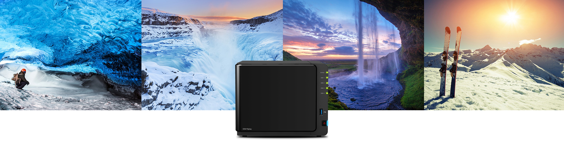 Photo of Synology lanseaza NAS-ul DiskStation DS416play