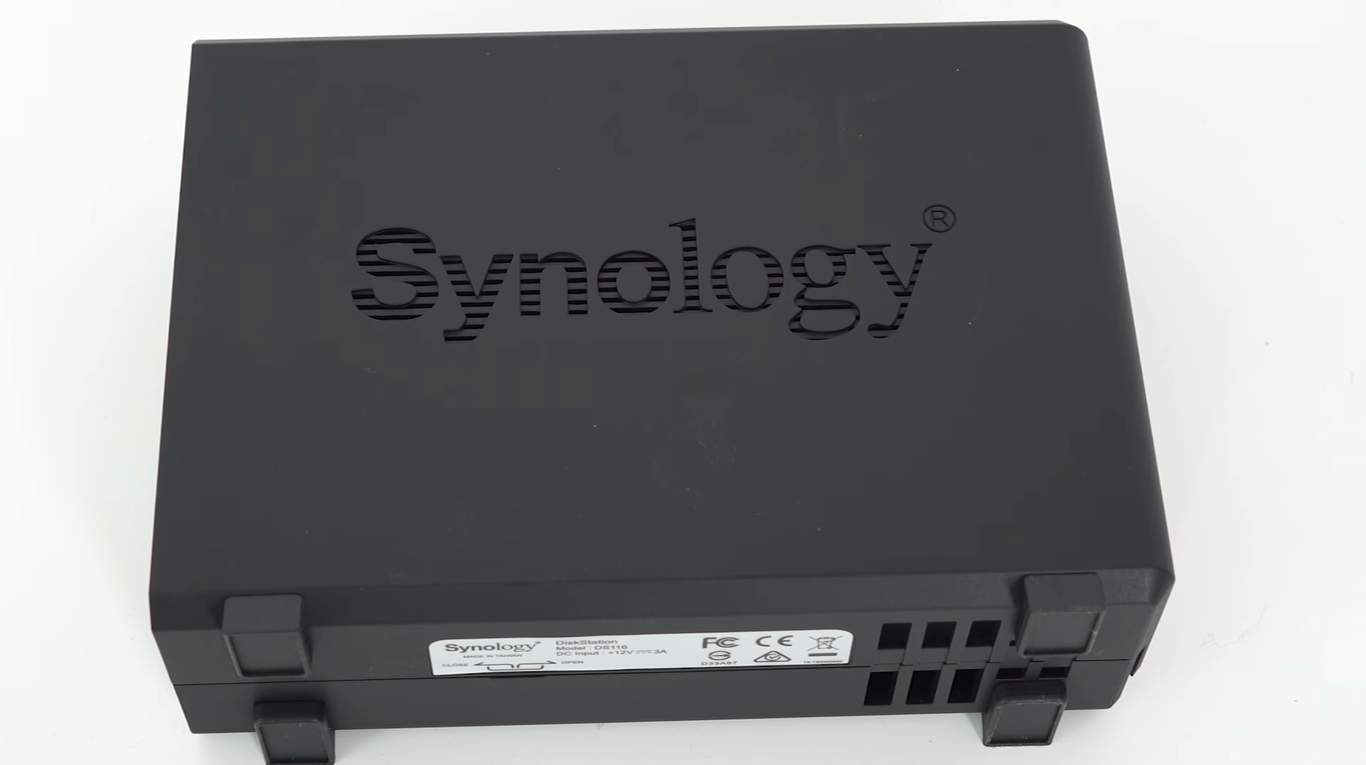 Review Synology DS-116 Network Attached Storage 01