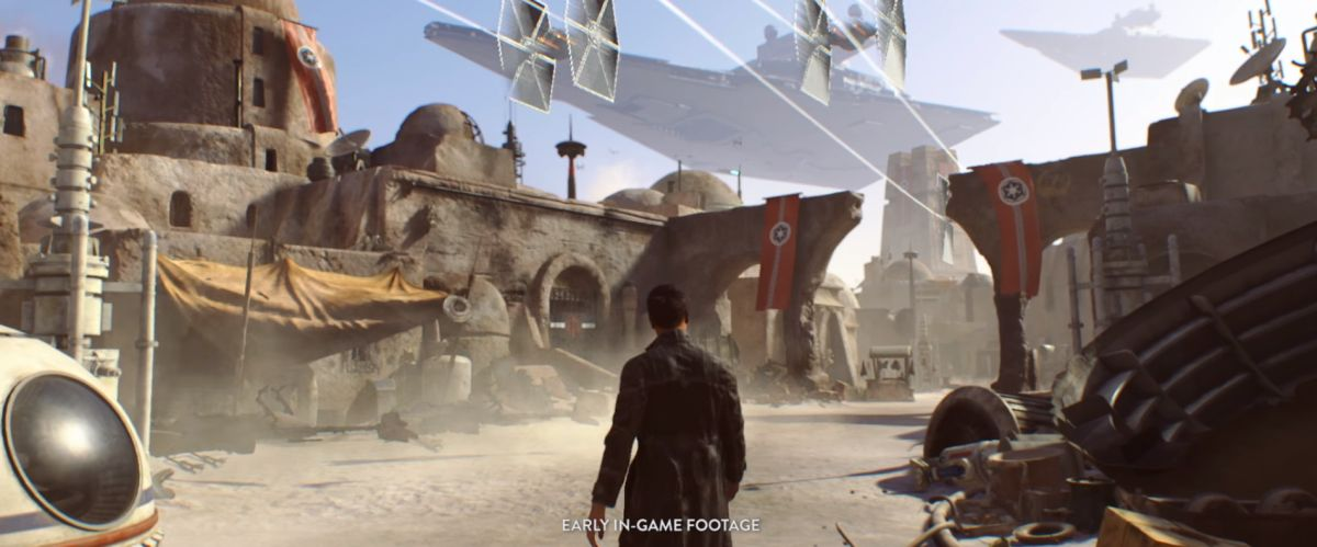Photo of Electronic Arts renunță la jocul open world Star Wars