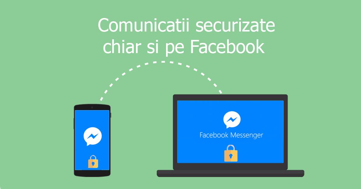 Photo of Cum va functiona criptarea in Facebook Messenger?