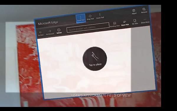 Windows Holographic - sursa CNET