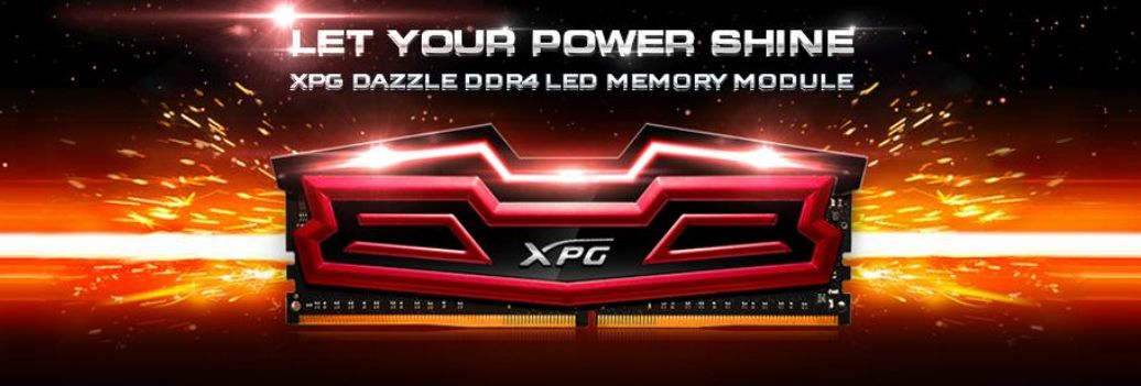 Photo of ADATA lanseaza memoriile XPG Dazzle LED DDR4
