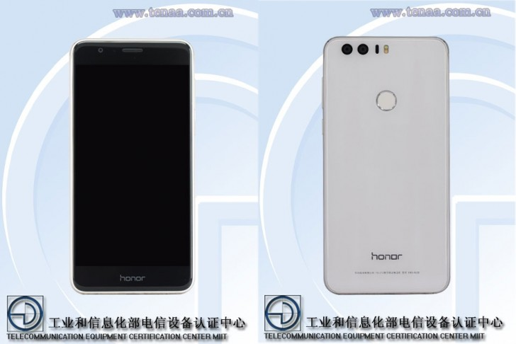 Photo of Huawei Honor 8 trece de TENAA