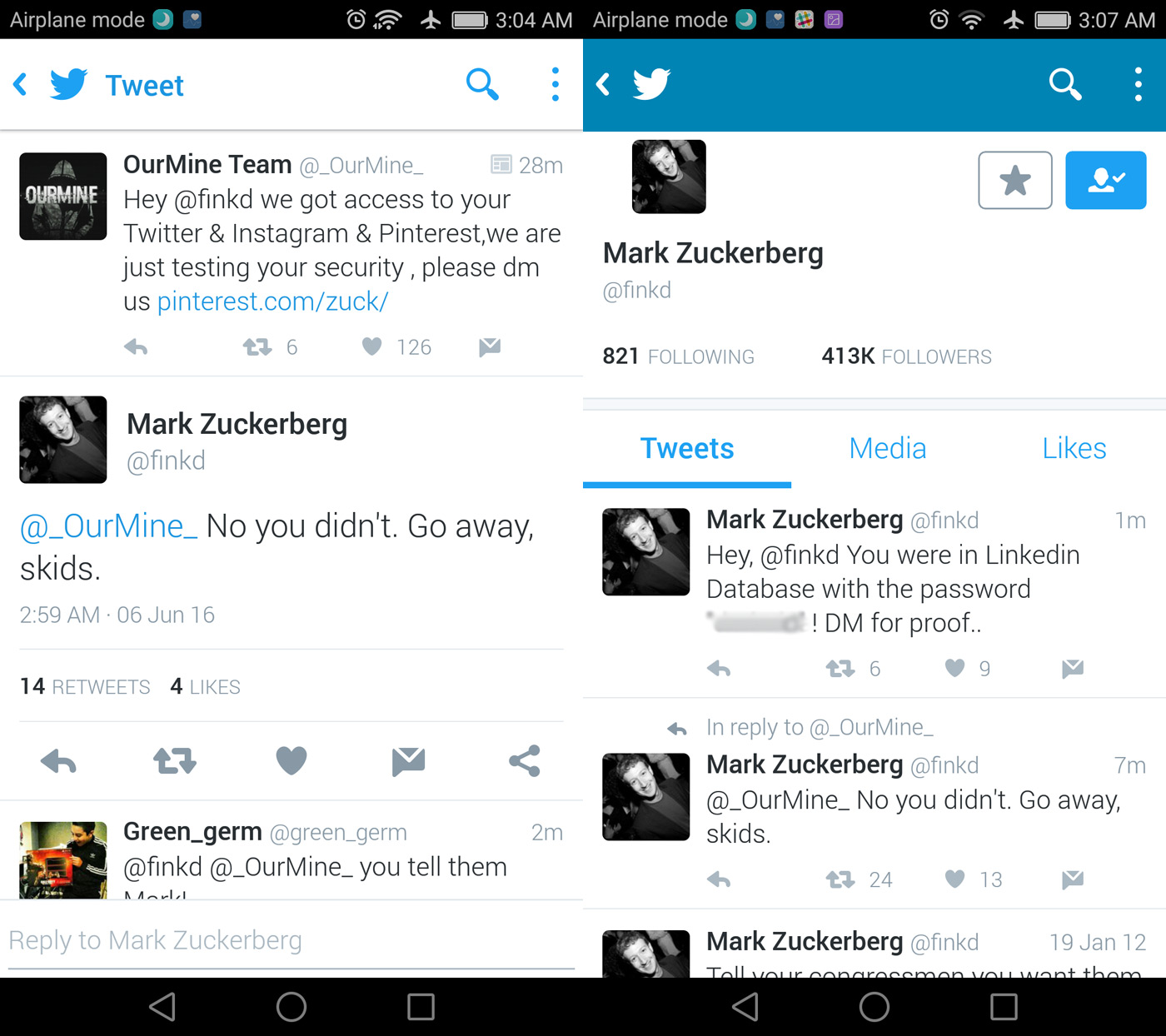 Photo of Lui Mark Zuckerberg i-au fost sparte conturile de social media