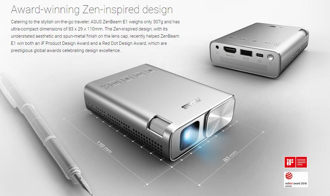 Photo of Asus ZenBeam E1 a fost anuntat