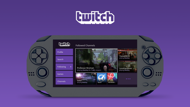 Photo of Twitch vine cu o noua aplicatie Playstation Vita