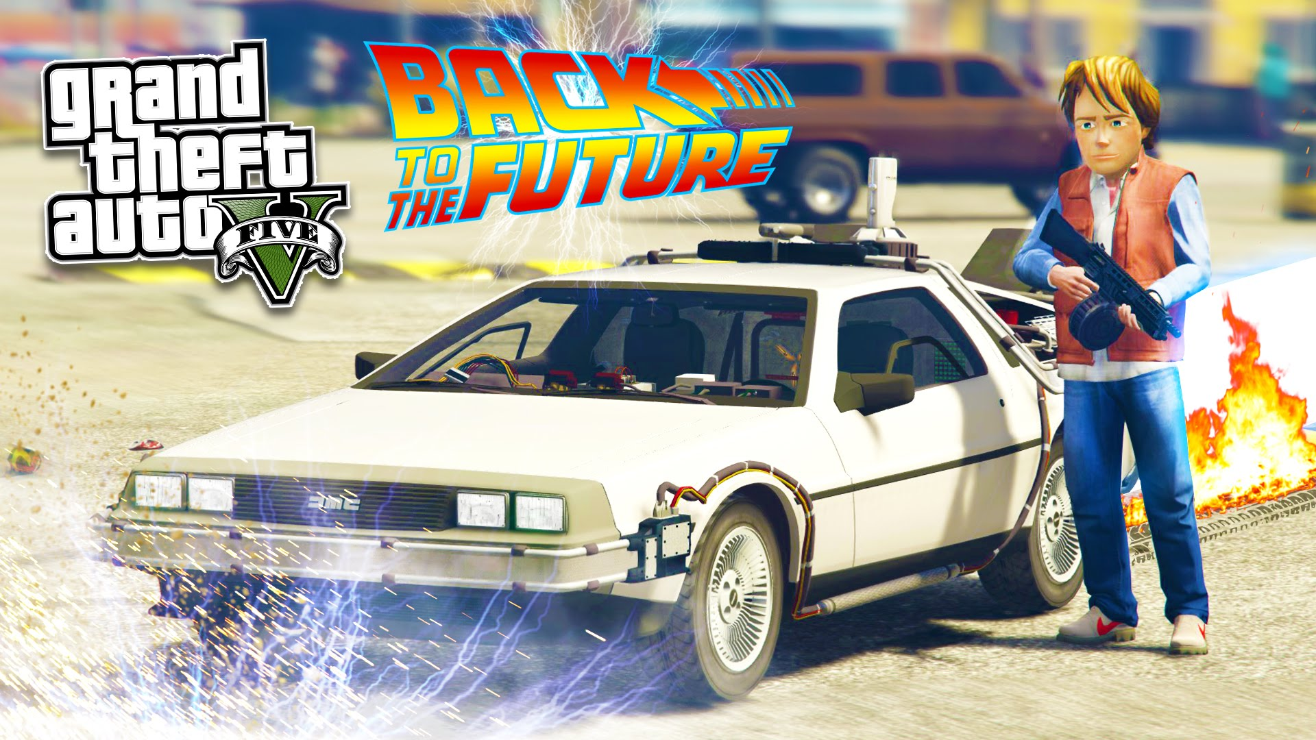 Photo of Back to The Future transforma GTA V intr-o explozie de nostalgie