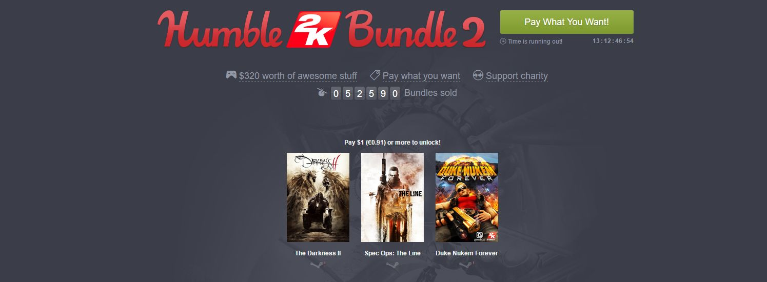 Photo of Humble 2K Bundle
