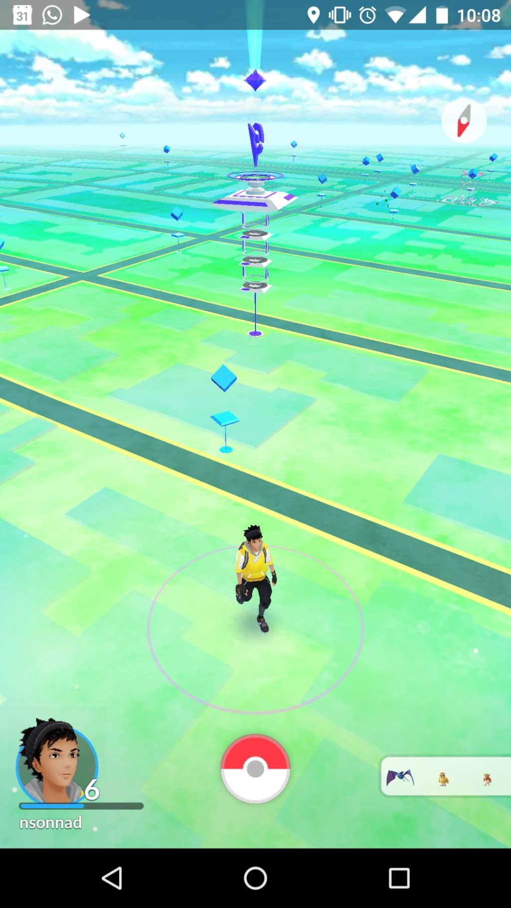 O sală Gym în depărtare