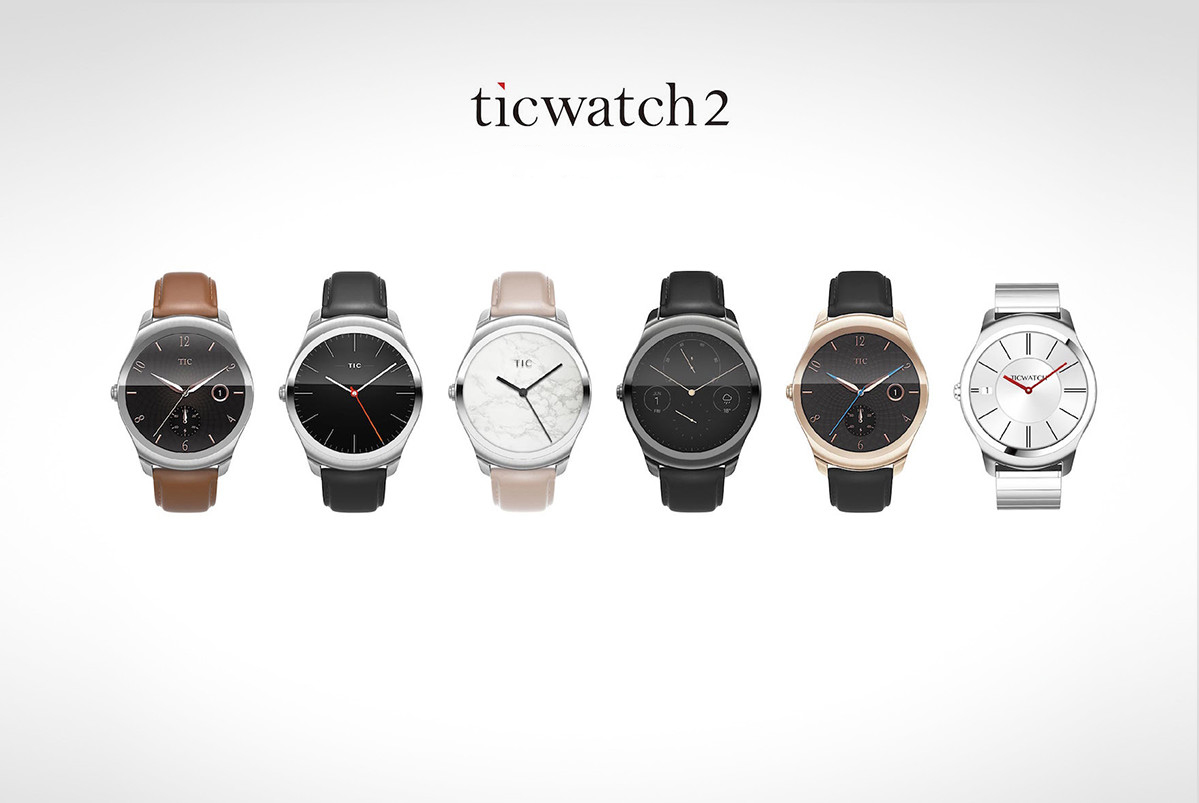 Ticwatch 2 - Un nou smartpatch rupe gura targului pe kickstarter