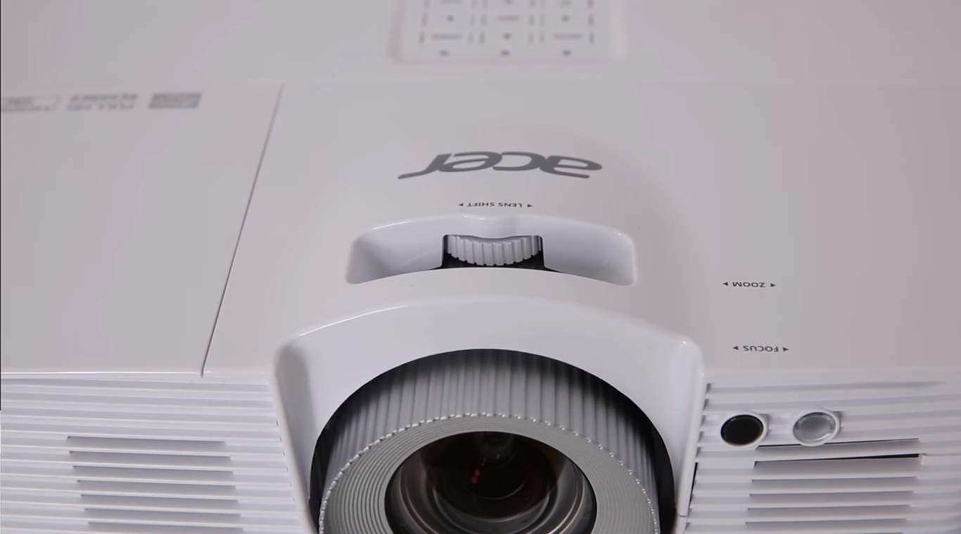 Videoproiectorul Acer v7500 05