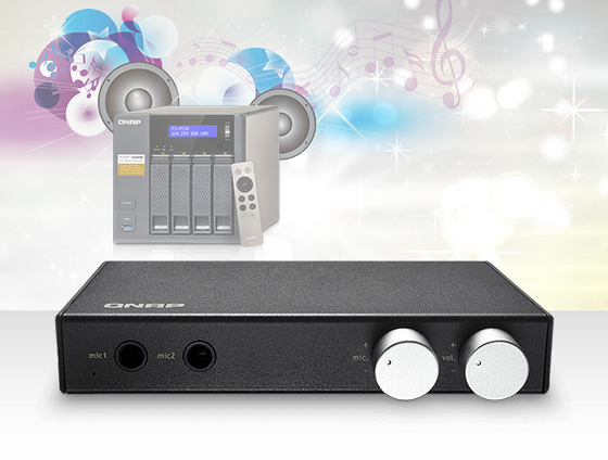 Photo of QNAP Audio Box transforma NAS-ul intr-un sistem de karaoke