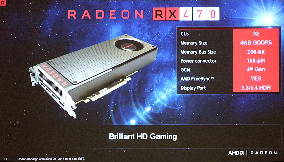Photo of Detalii oficiale despre RX 470 si RX 460