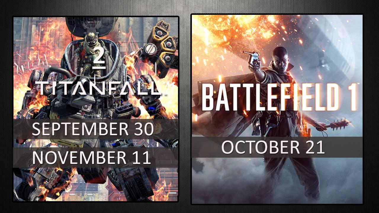 Photo of Titanfall 2 si Battlefield 1 vor sa rupa gura targului