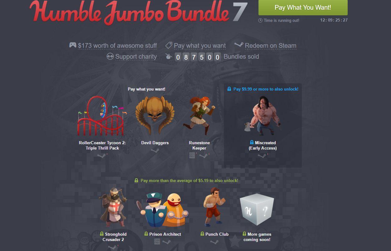 Photo of Humble Jumbo Bundle 7