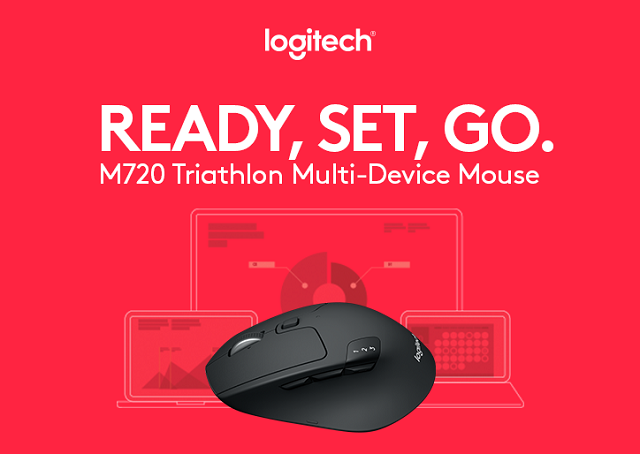 Photo of M720 Triathlon – Primul mouse care se conecteaza simultan la 3 terminale