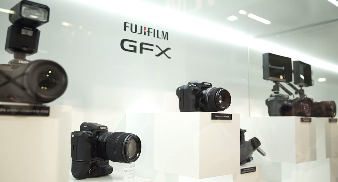 Photo of Gama FujiFilm GFX 50S la Photokina 2016