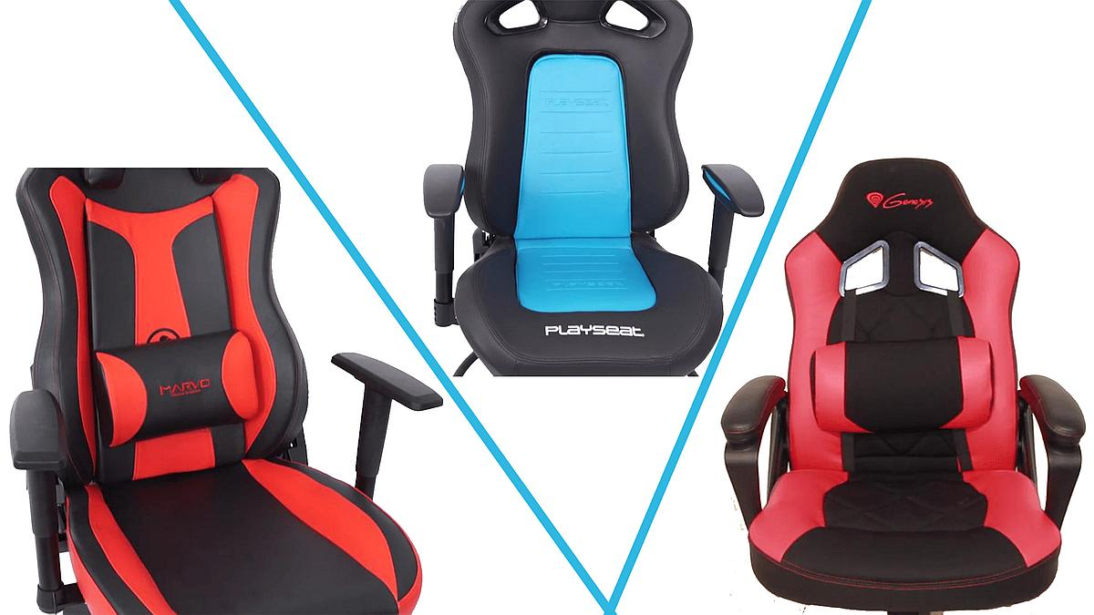 Photo of Trei producatori de scaune de gaming fata in fata – Genesis, Playseat si Marvo