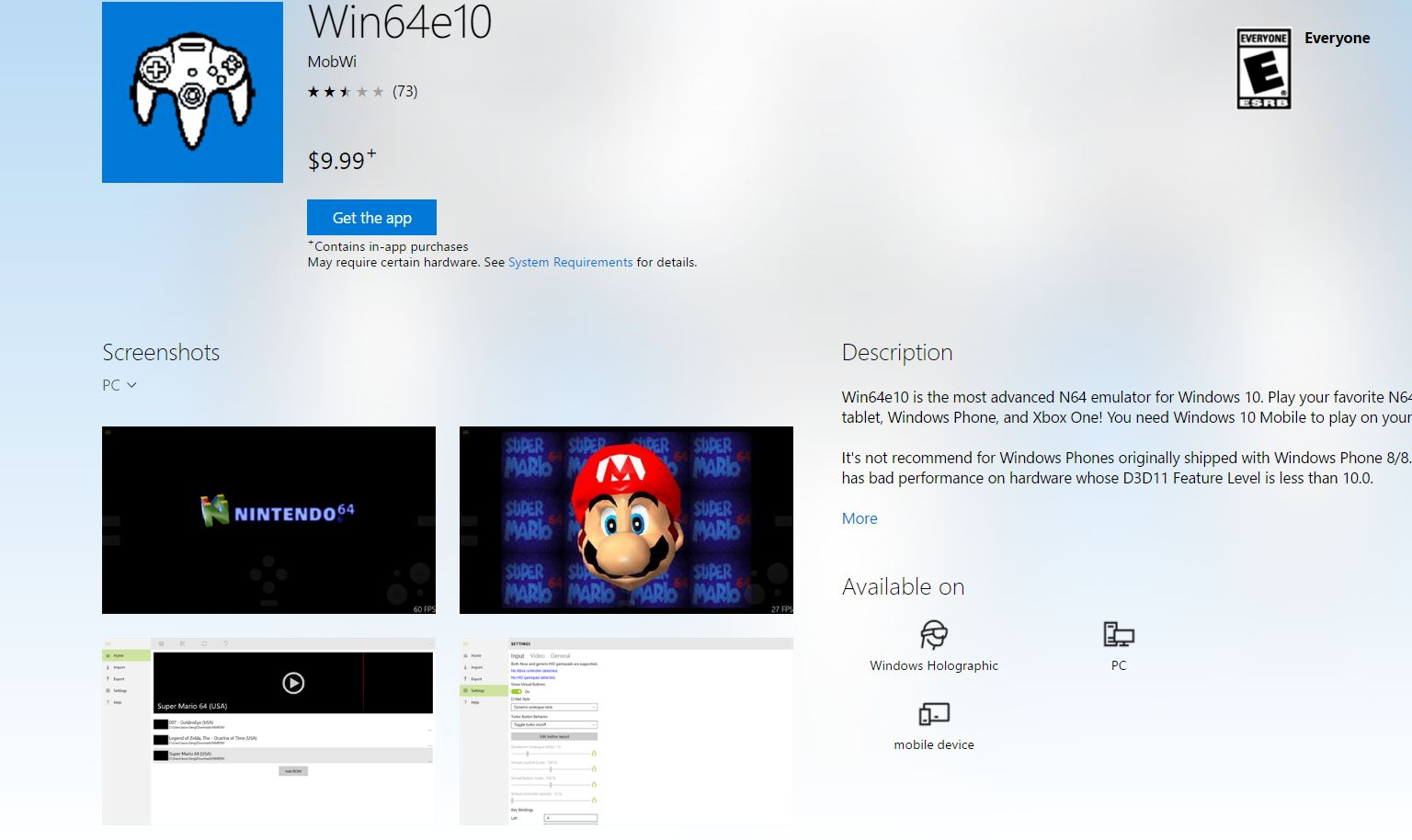 Photo of Microsoft vinde un emulator de Nintendo 64