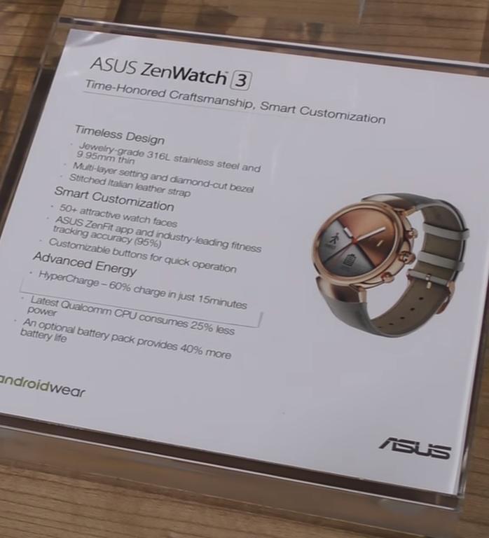 IFA 2016: ASUS lansează cu Zenwatch 3 un ceas rafinat, accesibil și capabil