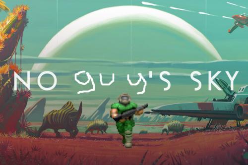 Photo of No Man's Sky a fost refăcut în Doom