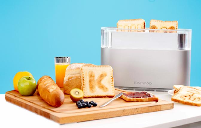 Toasteroid – prajitorul de paine care iti personalizeaza micul dejun cu ajutorul telefonului
