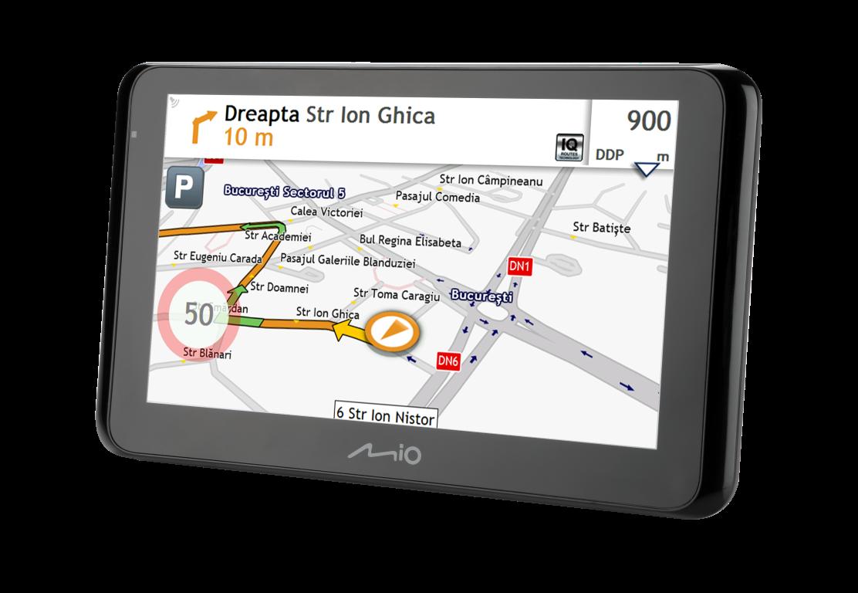Mio Technology lansează în România prima gamă de GPS-uri Spirit de 6,2 inch cu actualizări gratuite pe viață ale hărților
