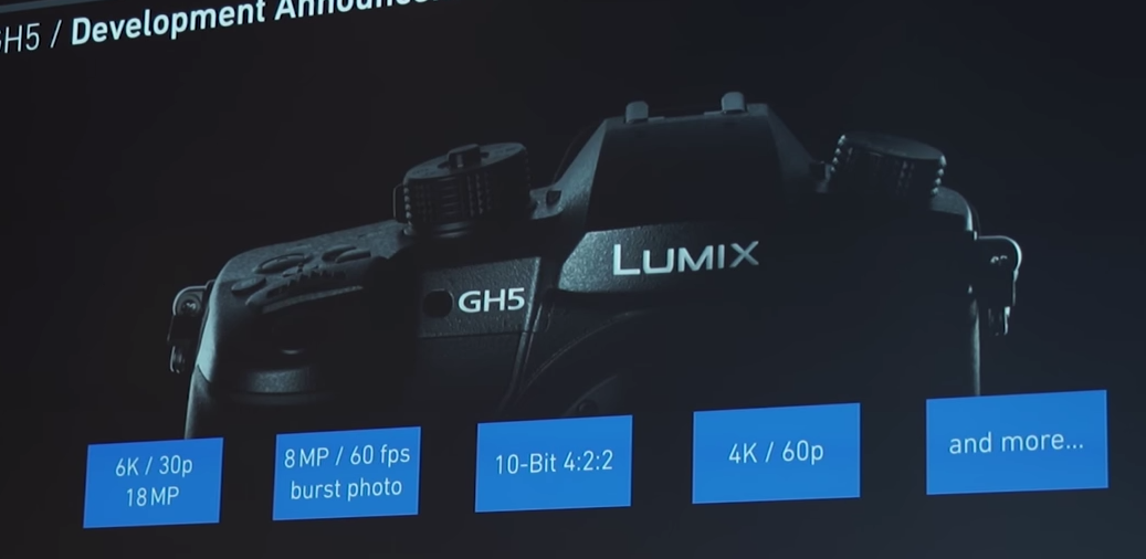 Photo of Panasonic GH5 la Photokina 2016