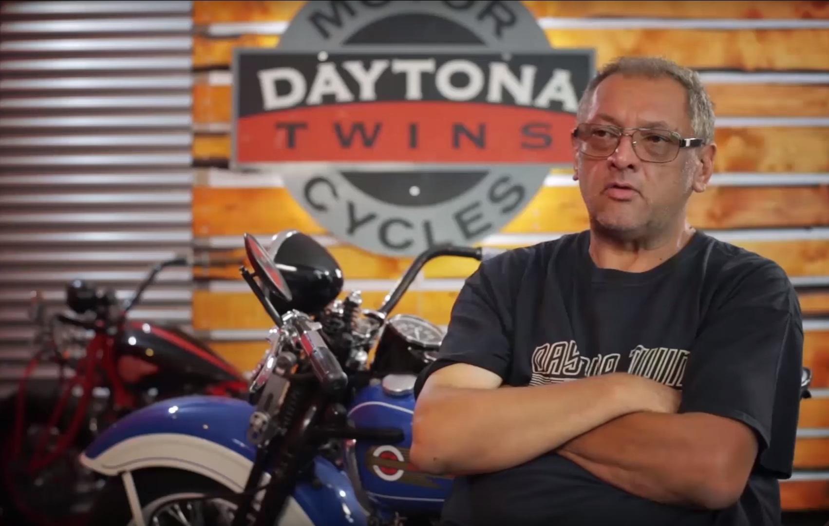 "Photo of Un român a construit motociclete pentru filmul ""Harley and the Davidsons"""